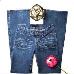 Buffalo David Bitton Women's Hi-Rise Jeans Flare